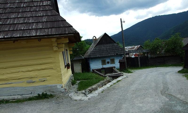 maisons traditionnelles Vlkolínec