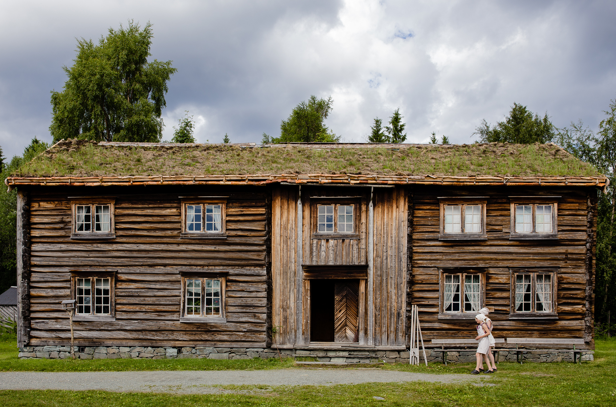 Maisons traditionnelles en bois de norv ge for Maison tradition