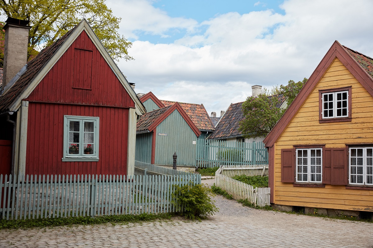 Maisons traditionnelles de norv ge for Maison tradition