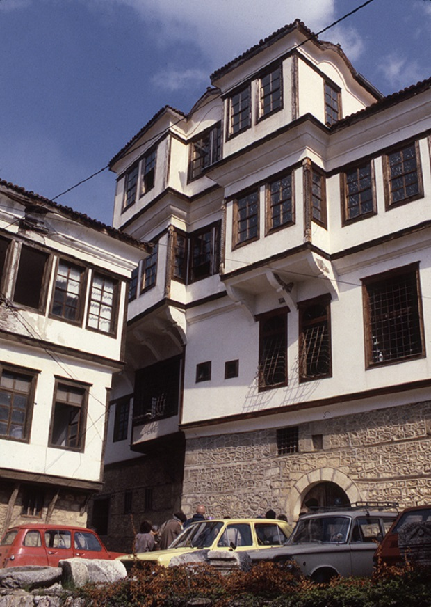 maisons traditionnelles ohrid