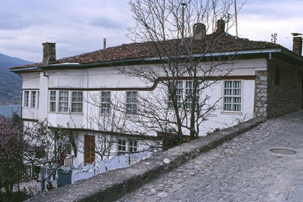 maison traditionnelle ohrid