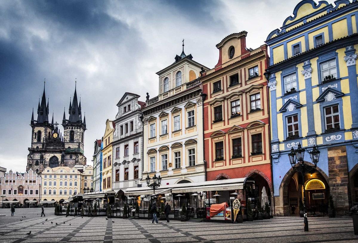 maisons vieille ville prague