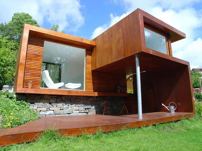 Belle Petite Maison Contemporaine En Norvège