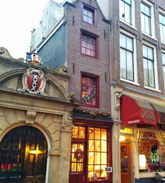 plus petite maison amsterdam
