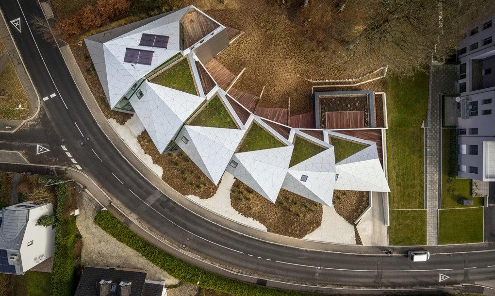 résidence futuriste luxembourg