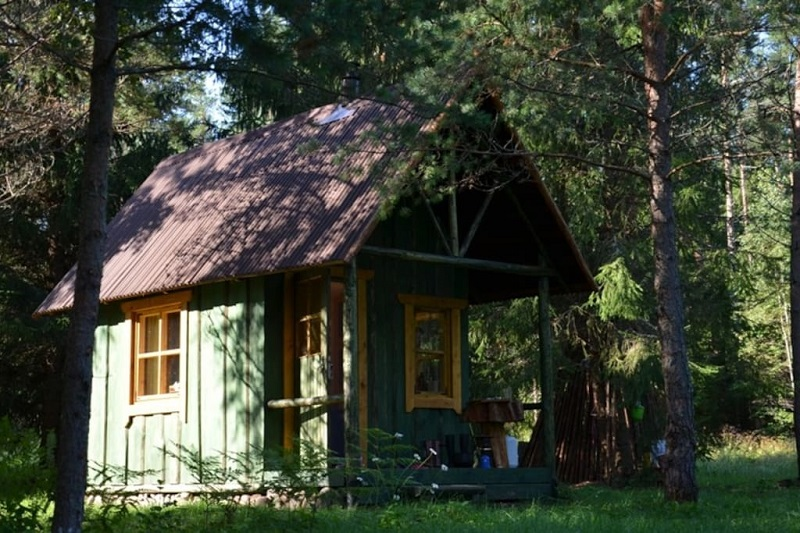 tiny house foret estonie