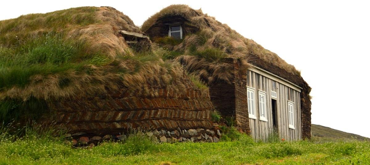maison herbe islande