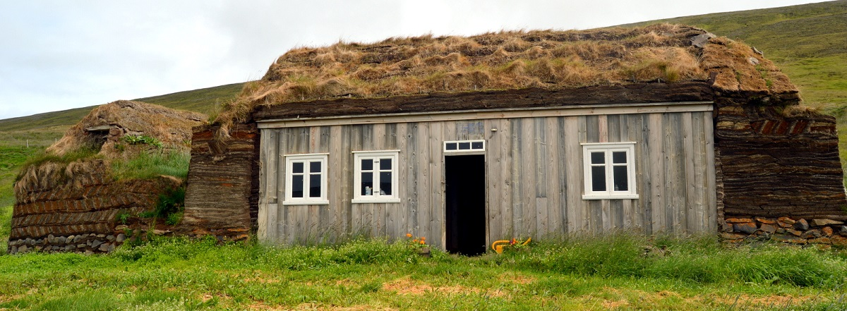 maison d'herbe islande