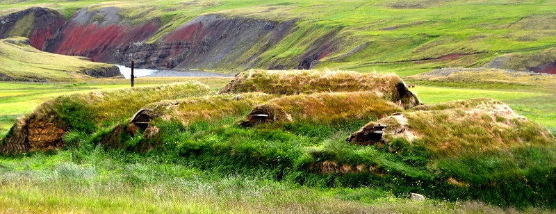 maisons herbe islande