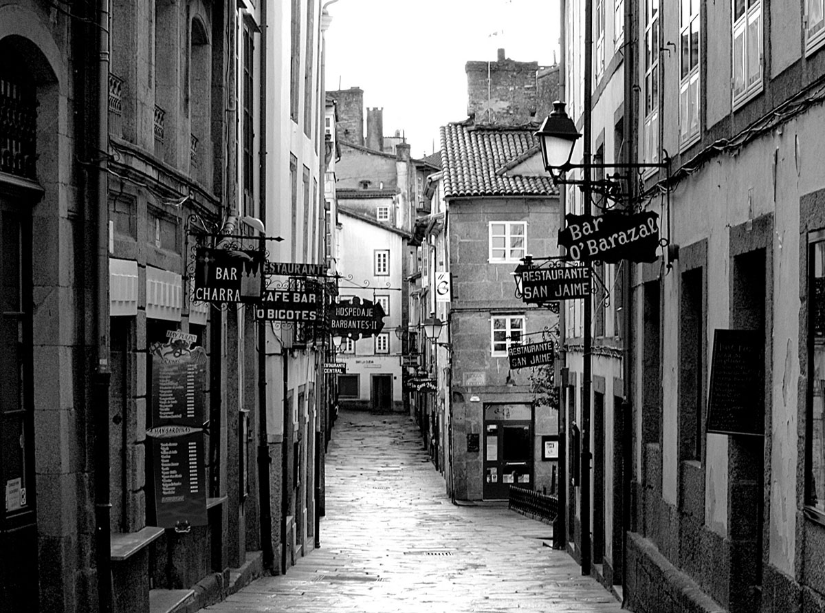 vieille ville st jacques de compostelle