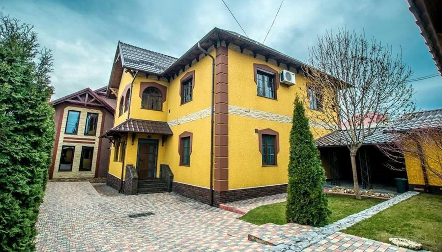 villa colorée chisinau
