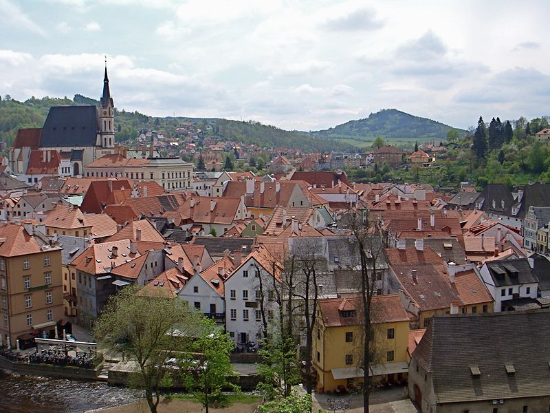 ville médiévale Český Krumlov