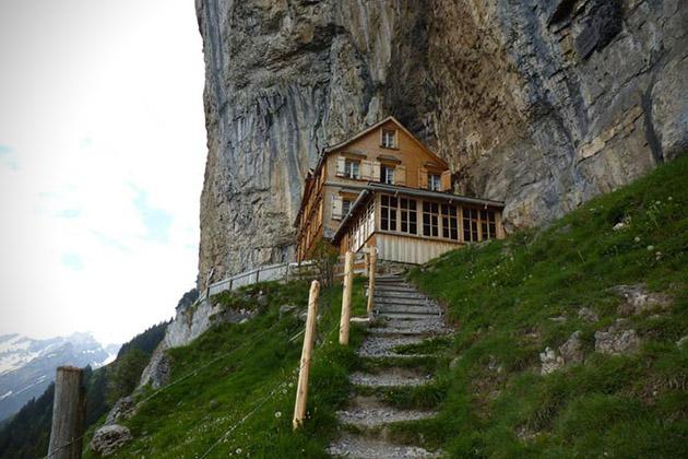 Aescher maison hôtes Suisse