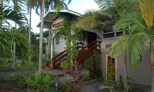 Ancienne maison coloniale aux Samoa