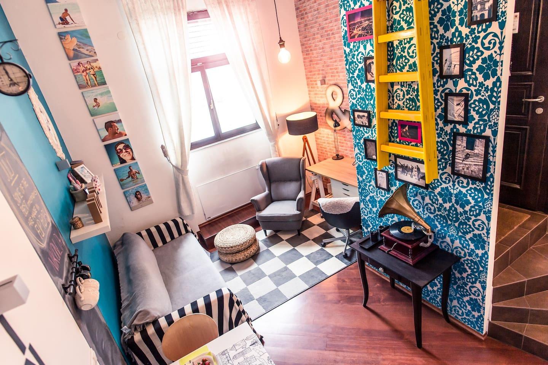 Appartement vintage à Maribor
