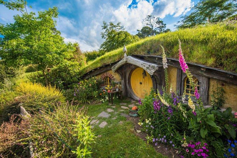 maison hobbit nouvelle zelande