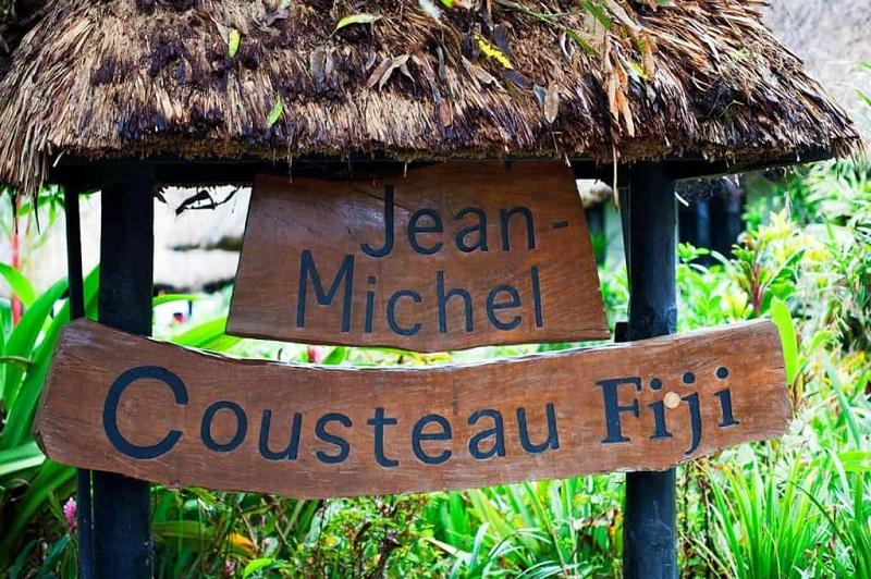station cousteau fidji