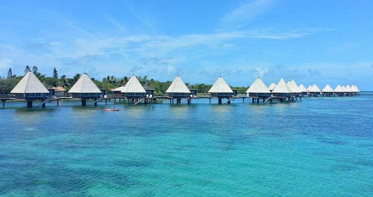 bungalows sur pilotis Nouvelle-Calédonie