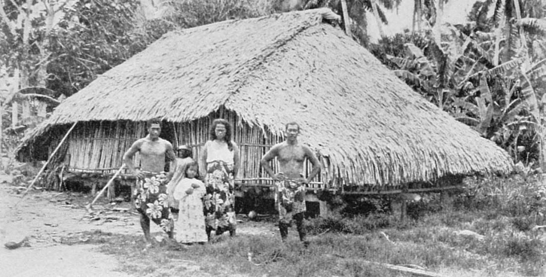 maison traditionnelle polynésienne