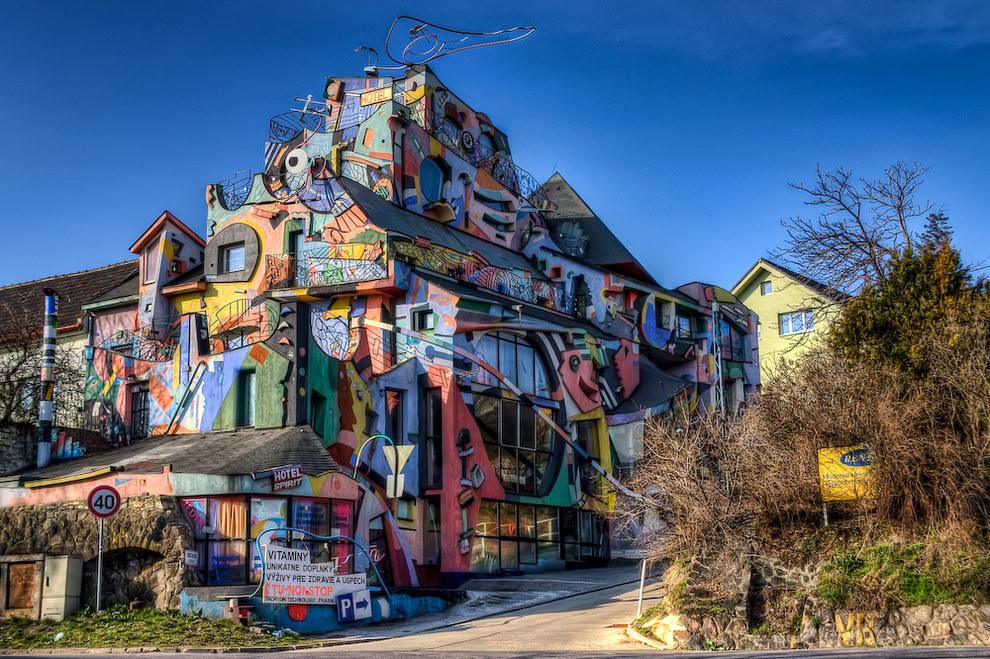 hôtel étonnant à Bratislava