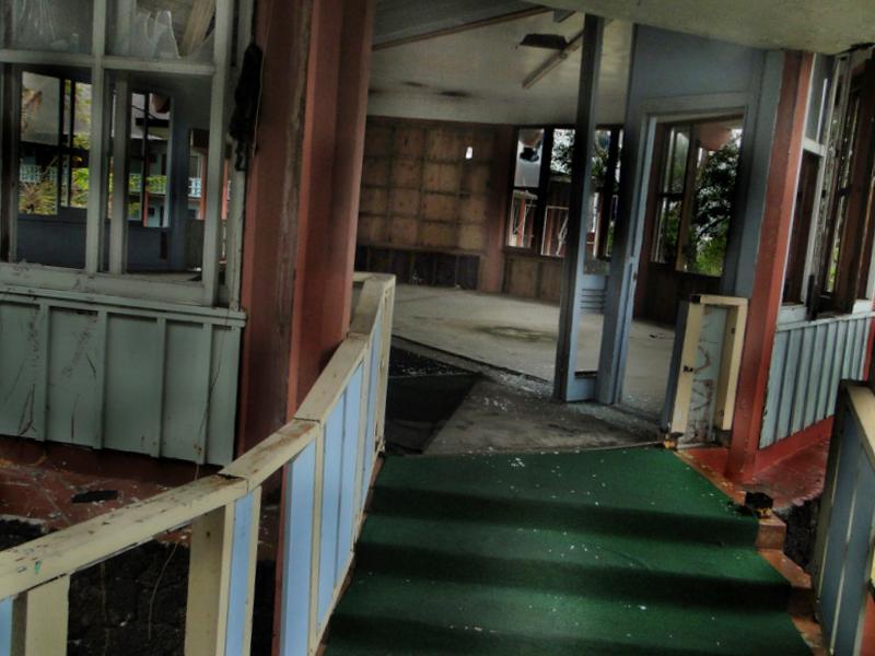 hôtel abandonné samoa