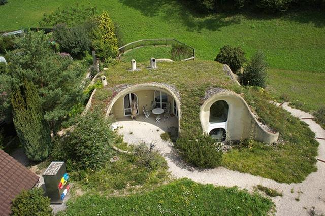 habitation insolite en Suisse