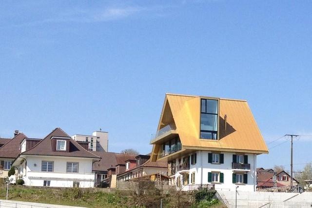 maison insolite en Suisse