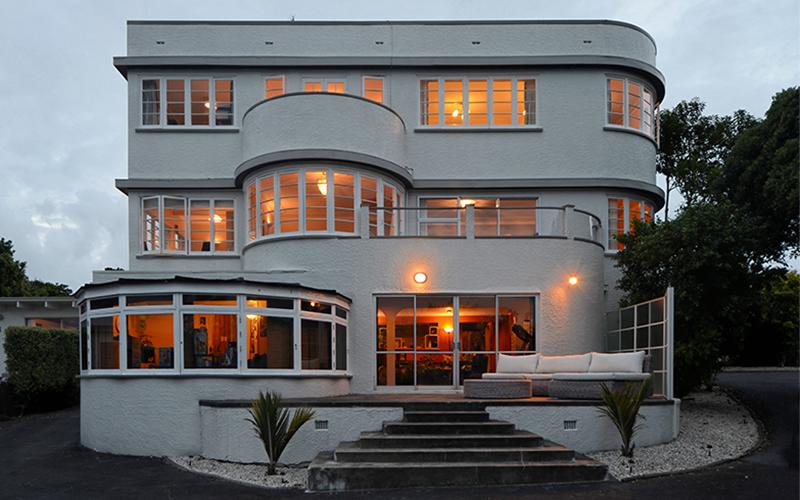 maison art deco nouvelle zélande