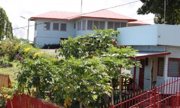 maison coloniale aux îles Salomon