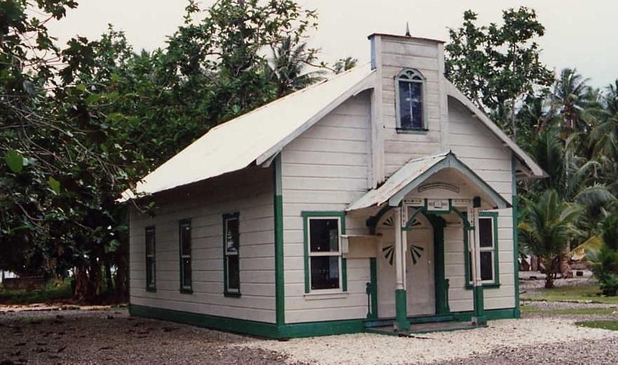 maison coloniale iles marshall
