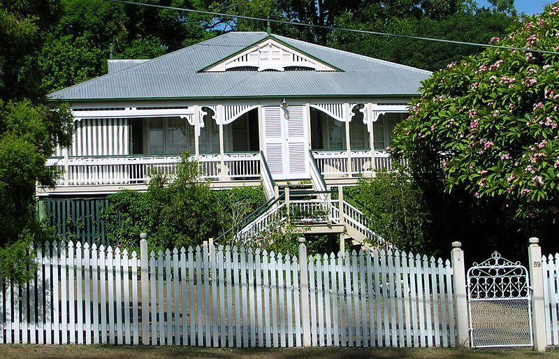 Les Maisons Queenslanders En Australie
