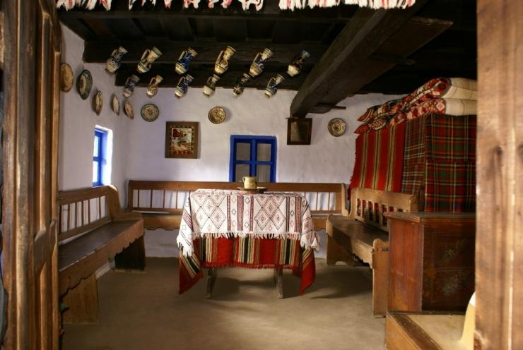 maison traditionnelle Dumitra