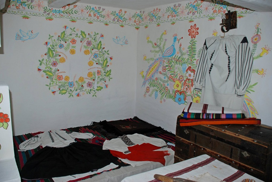 maison traditionnelle de Podolie