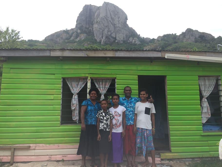 maison village typique fidji