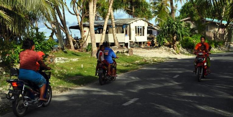 maisons à Funafuti