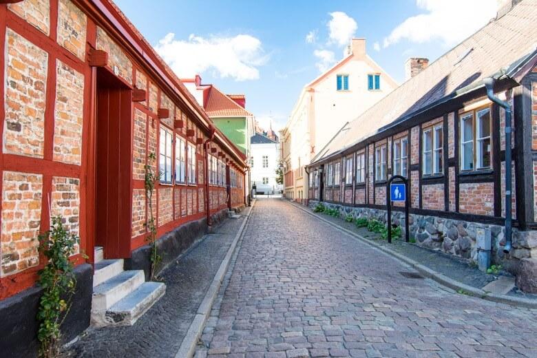 maisons à colombages de Ystad