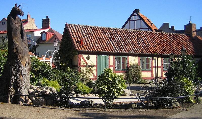 maison à colombages Ystad
