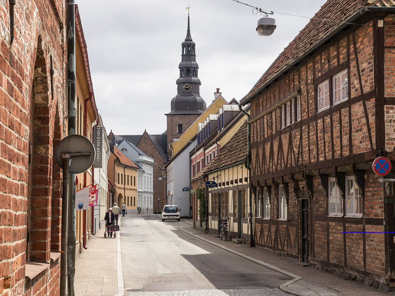 maisons à colombages Ystad