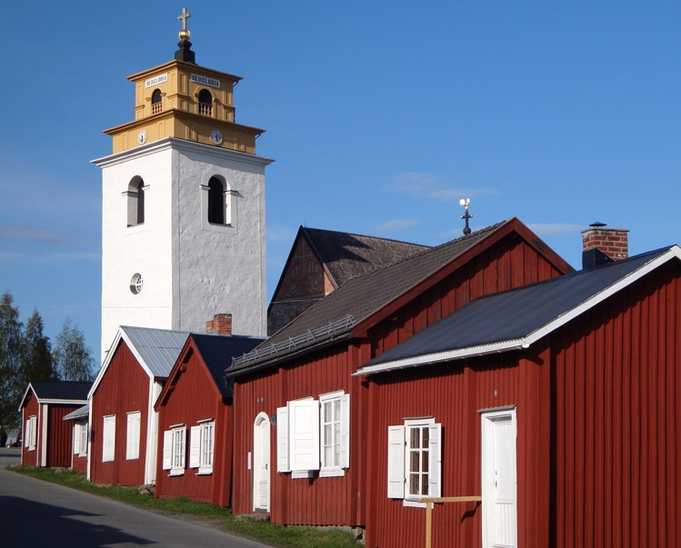 maisons bois Gammelstad