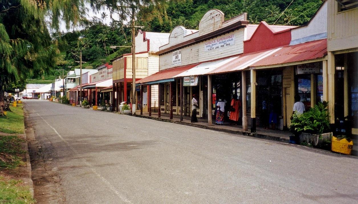maisons coloniales Levuka