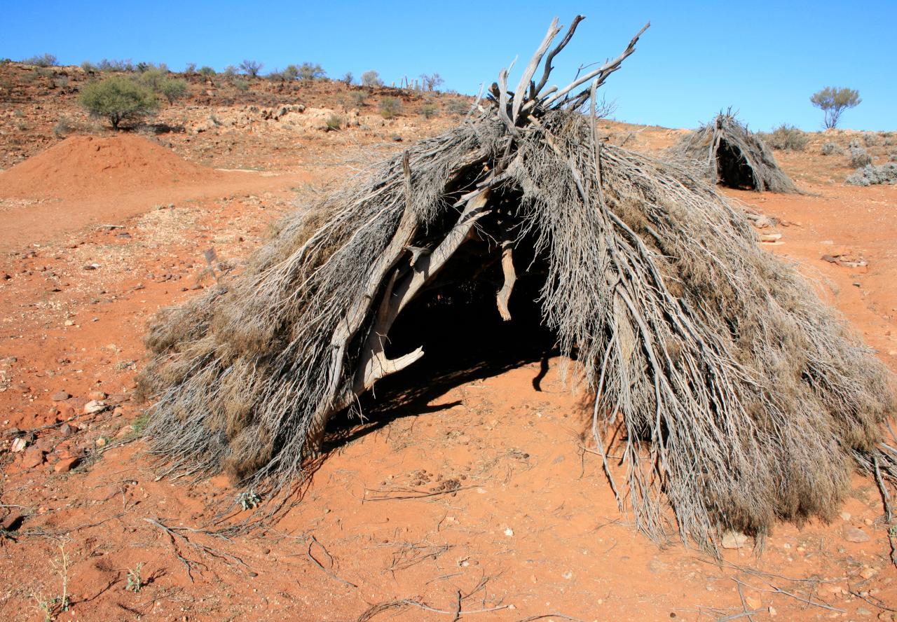 maisons indigènes Australie