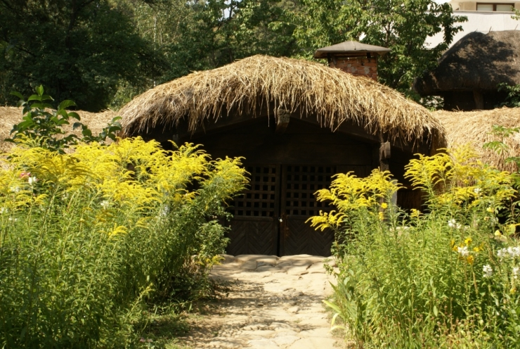 maisons semi-souterraines Roumanie
