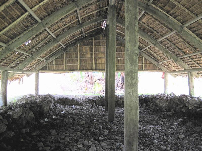 maisons traditionnelles des îles Salomon