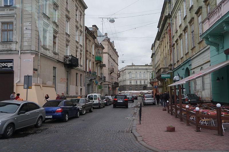 maisons vieille ville lviv