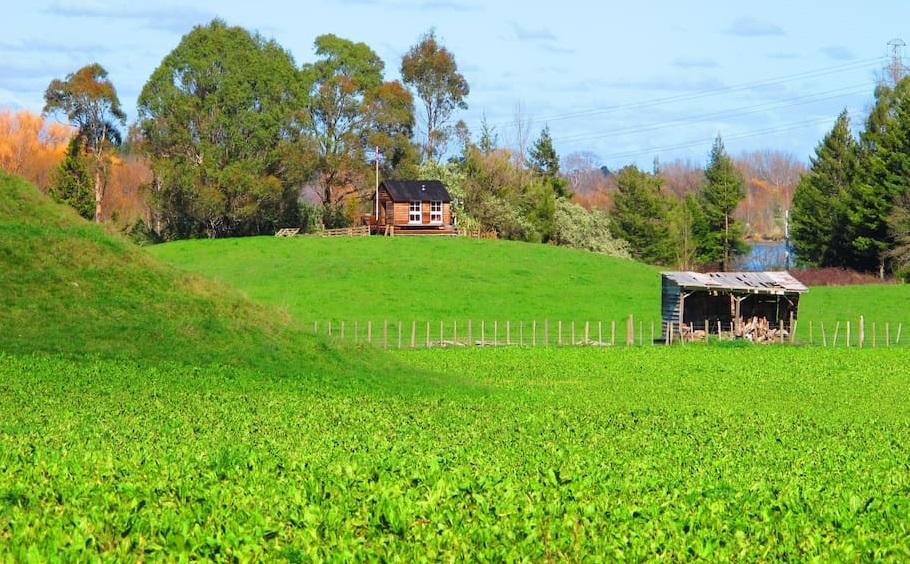 L 39 int rieur de cette tiny house est absolument adorable - La villa rahimona en nouvelle zelande ...