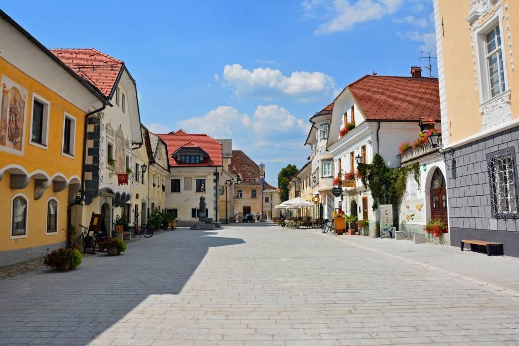 vieille ville médiévale de Radovljica