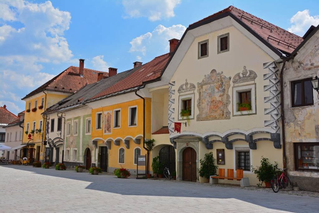 Radovljica vieille ville