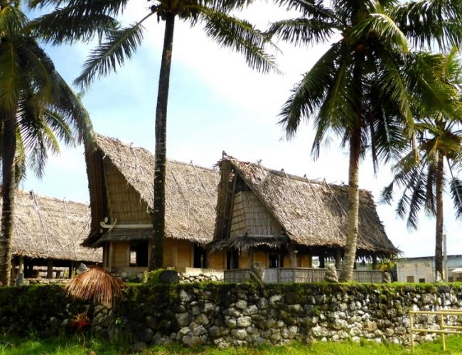 Maisons micronésie