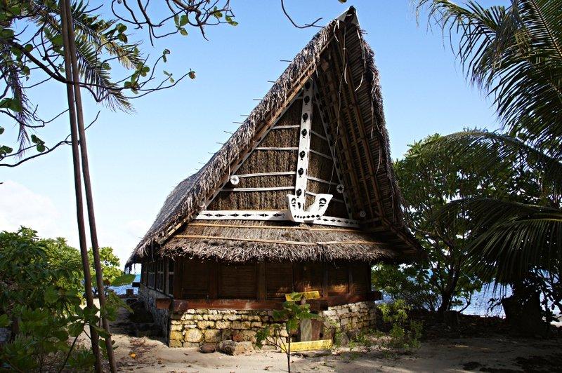 Maisons traditionnelles micronésie