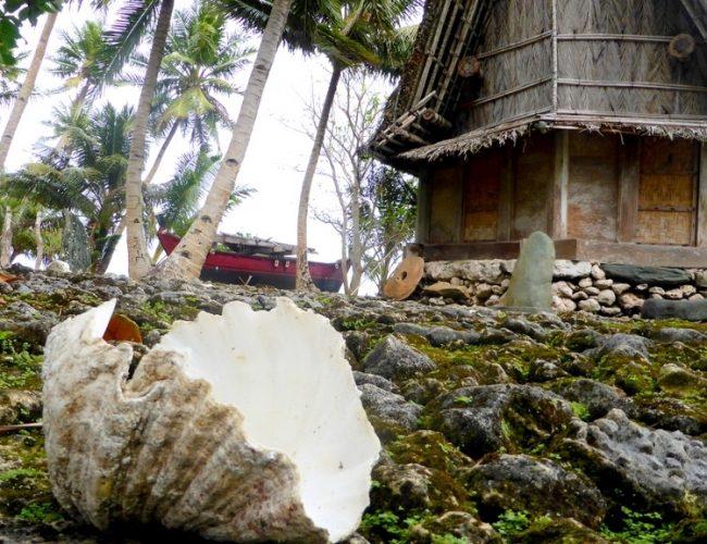 Maisons traditionnelles micronésiennes